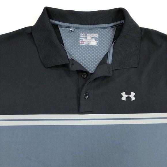 c0ca13452 Under Armour Shirts | Mens Xxl Stretch Heat Gear Polo Shirt | Poshmark